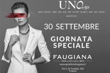 Giornata speciale UNOde50 Gioielleria Faugiana 30 settembre 2017