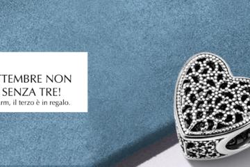 Pandora promozione anche a Trapani