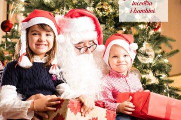 Babbo Natale in Gioielleria Faugiana via Fardella